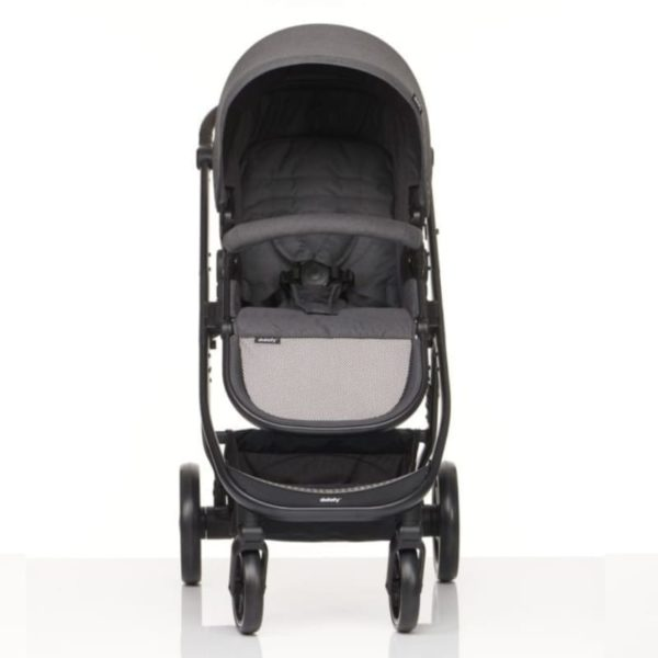 didofy pushchair cosmos black front