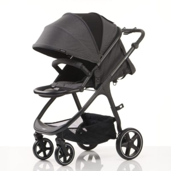 didofy pushchair cosmos black side left