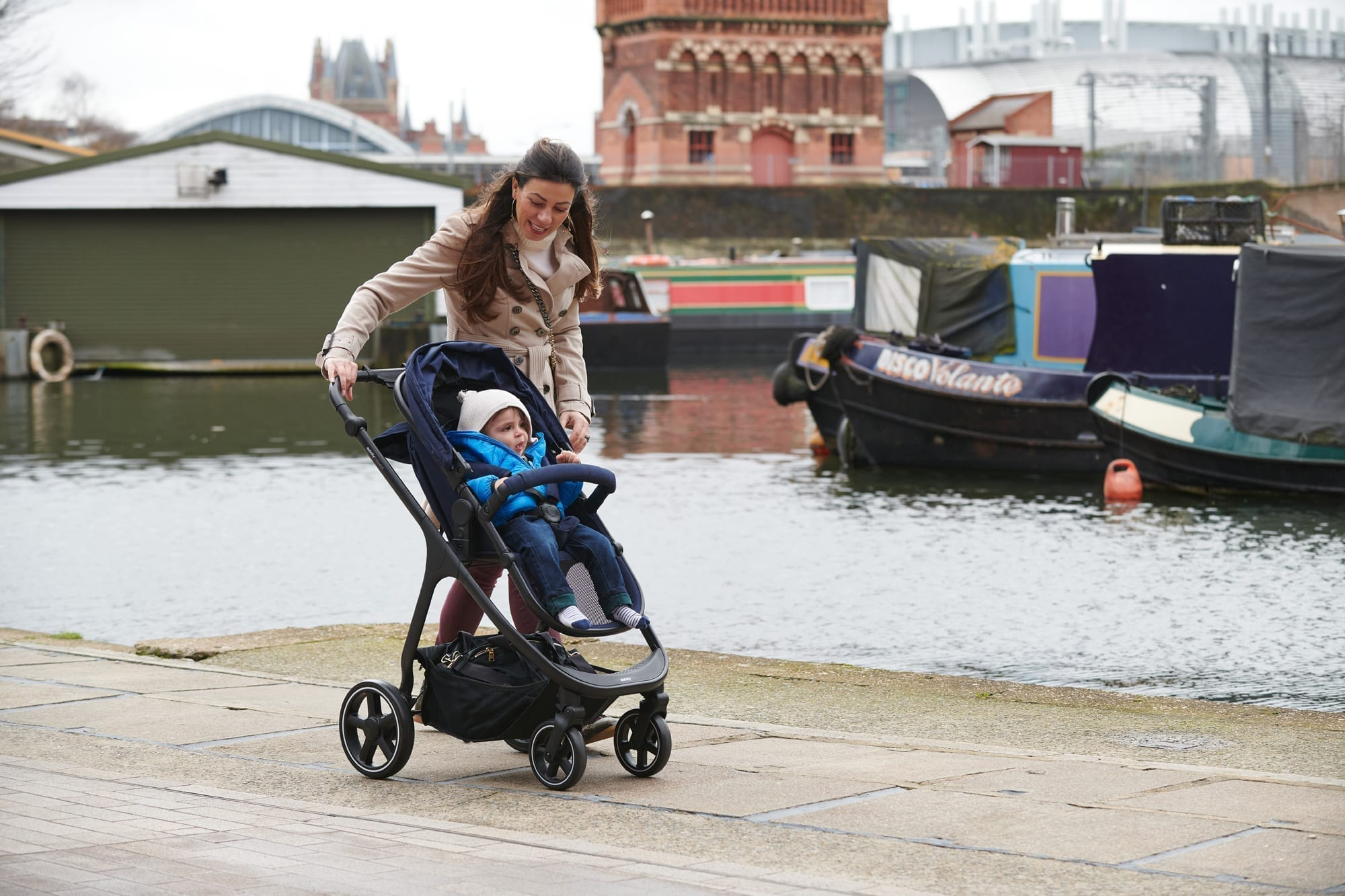 When it's time for baby to face the world in their pushchair