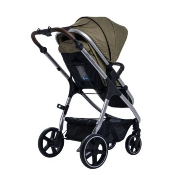 Cosmos Bloom Pushchair Savannah Khaki back