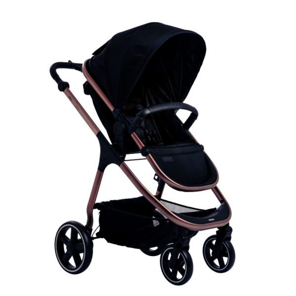 didofy cosmos bloom pushchair midnight black clean