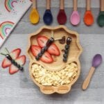 eco rascals dinosaur plate and spoons