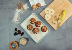 Piccolo's Apple and Apricot Muffins