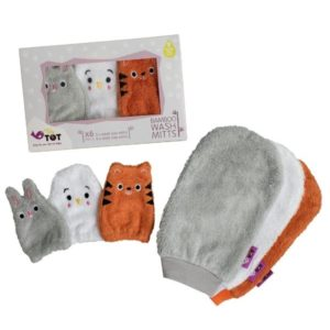 Tidy Tot Bamboo mitts
