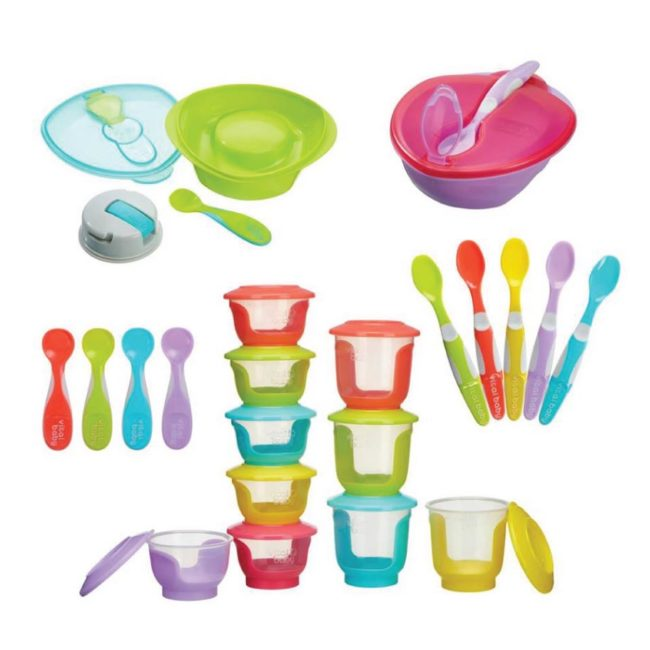 No more messy mealtimes!
