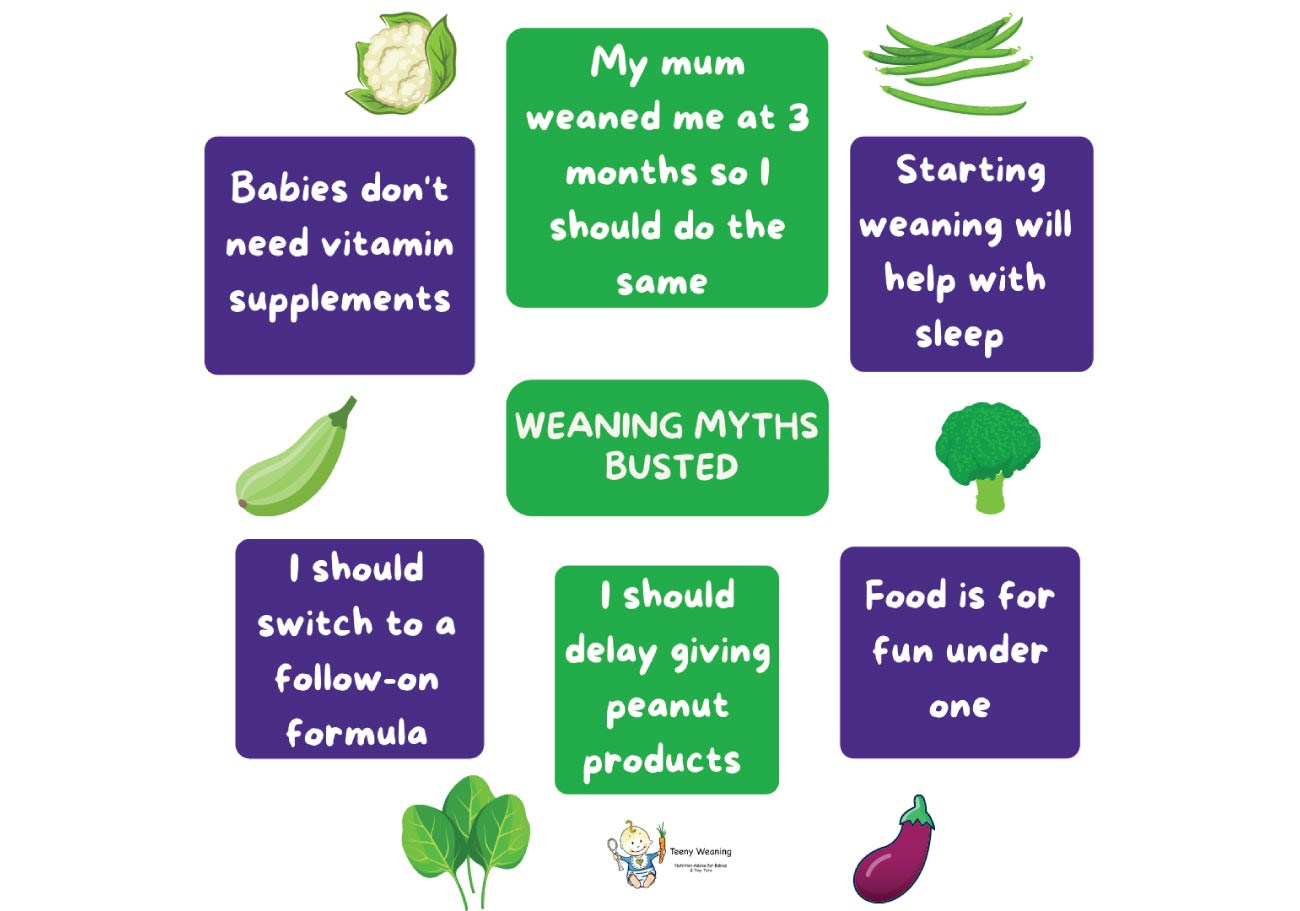 Weaning Myths - busted!